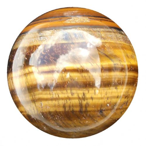 Tiger Eye Fortune telling Crystal Ball 56mm 260g (TE3)
